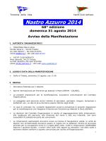 Nastro Azzurro 2014 - Yacht Club Adriaco