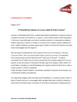x Scarica il comunicato stampa (pdf | 136.35 KB)