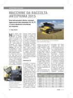 MACCHINE DA RACCOLTA ANTEPRIMA 2015