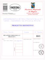 R03 Relazione idrologica e idraulica