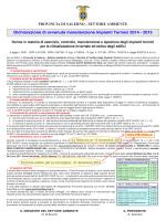 Manifesto - Arechi Multiservice SpA