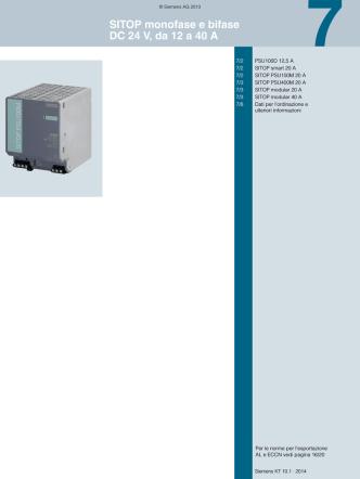Catalogo KT 10.1 · 2014 Capitolo 7