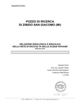 Allegato 05_Verifica_Idraulica - Comune di Zibido San Giacomo