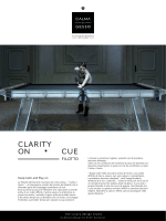 CLARITY ON CUE - Calma e Gesso