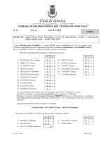 Approvazione Piano Finanziario servizio di spazzamento, raccolta e