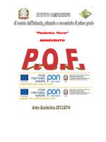 Pof - Istituto Comprensivo Federico Torre