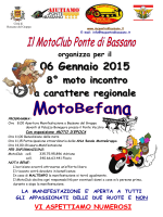 motobefana 2015 sfondo b-n - Moto Club Ponte di Bassano