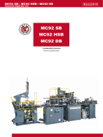 MC92 SB MC92 HSB MC92 DB