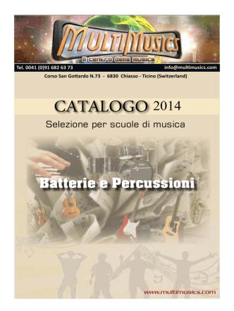 CATALOGO - MultiMusics