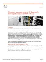 Migrazione a un data center a 40 Gbps con la tecnologia