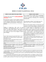 Simultanei GrandPrix - Federazione Italiana Gioco Bridge