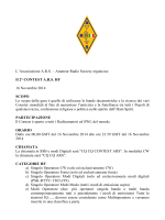 Regolamento Contest HF ARS 2014