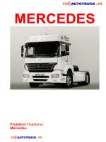 Proiettori Headlamp Mercedes