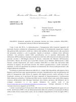 Leggi la Nota - FITAV Comitato Regionale Piemonte