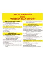 calendario vco 2015 - Equipe Oleggio 2000