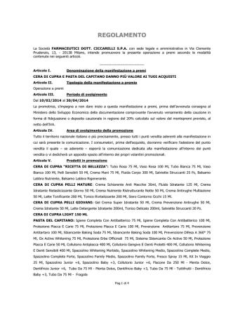 """CONTRO LA LOGICA DELLE EMERGENZE """"Prescrizione Reato"""