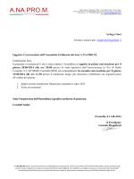 ALLEGATO 1 TABELLA COSTI - Dipartimento Funzione Pubblica
