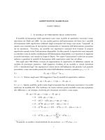 ASPETTATIVE RAZIONALI 1. Il modello di formazione delle