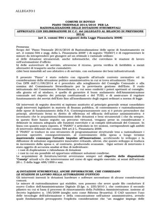 ALLEGATO I - Comune di Rovigo