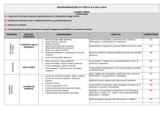 competenze - Liceo Scientifico Nomentano