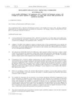 REGOLAMENTO DELEGATO (UE) N. 568/2014 DELLA