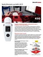 Spettrofotometro portatile 45/0