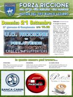 FORZA RICCIONE - ASD Unione Calcio Riccione
