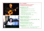 Duo Diabelli, Classical guitar and Piano