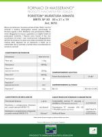 POROTON® MURATURA ARMATA BRITE SP 30 30 x 21