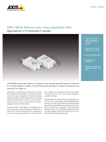 AXIS T8640 Ethernet over Coax adattatore PoE+