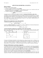 Geom_analitica - Liceo Statale Aprosio