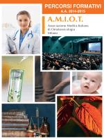 Calendario eventi 2014-2015 Ultimo aggiornamento 19