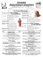 Foglietto33 - Parrocchia di Campolongo Maggiore