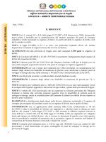 U F F IC IO A U T O N OM IA Ufficio Scolastico Regionale per la