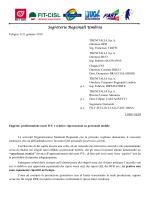 Segreterie Regionali Umbria - Or.SA Sindacato Personale Viaggiante