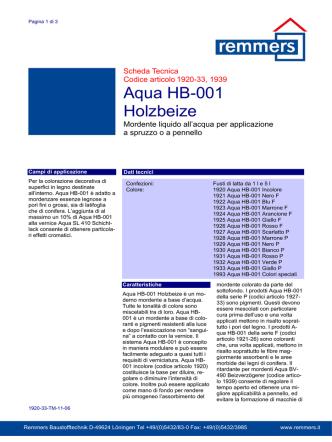 Aqua HB-001Holzbeize - 1920-33-TM-11-06-IT