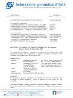 10971/SN/TM 29/10/2014 Ai COMPONENTI LA DELEGAZIONE