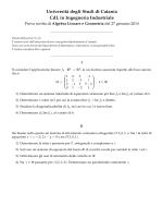 Anno 2014 - Dipartimento di Matematica e Informatica