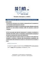 Raccolta dati per compilazione Dichiarazione IVA 2014