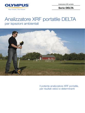 Analizzatore XRF portatile DELTA