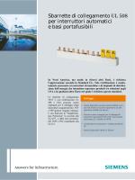 Brochure sbarrette di collegamento 5ST3 UL508