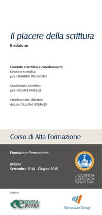 brochure FP Piacere Scrittura 2014.indd