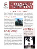 Leggi CORSICO SI FA IN QUATTRO ottobre 2014