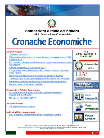 Cronache Economiche N. 8 (22 marzo