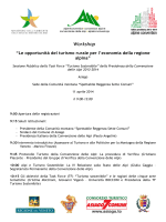 programme (it) - Convenzione delle Alpi