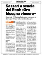 Articolo [PDF] - Dinamo Sassari