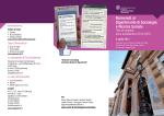 Brochure DSRS - Università degli Studi di Trento