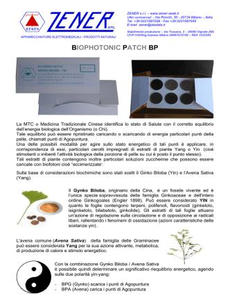 BIOPHOTONIC PATCH BP