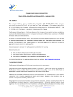 TRAINEESHIP PUBLICATION NOTICE March 2015 - ERA