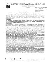 Scarica Bando - Comune di Savignano Irpino
